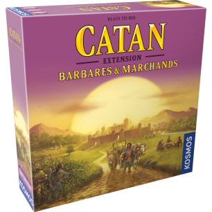 Catan – Ext Barbares & Marchands