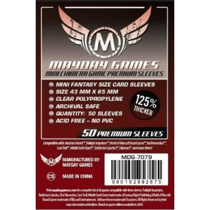 Sleeves Mayday Mini Chimera Premium 43 x 65 mm - 50 p