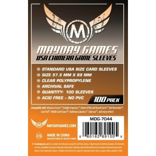 Sleeves Mayday Chimera Standard 57,5 x 89 mm - 100 p
