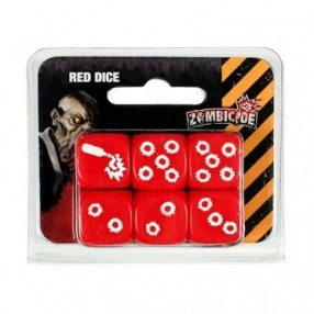 Zombicide – Set de dés Rouges