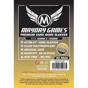 Sleeves Mayday USA Chimera Premium 80 x 120 mm - 50p