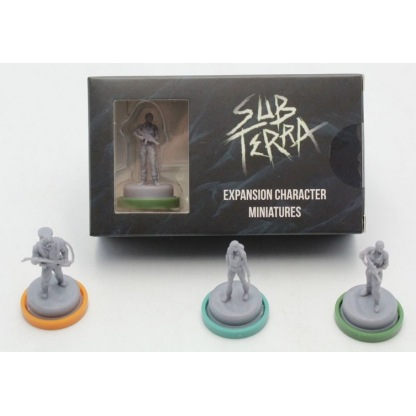 Sub Terra : Mini Personnages
