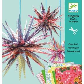 Boules de Papier : Kirigami