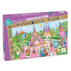 Puzzle Observation : princesse