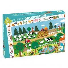 Puzzle Observation : ferme