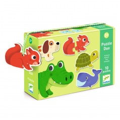 Puzzle Duo : Animaux