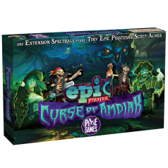 Tiny Epic Pirates : Extension Curse of Amdiak